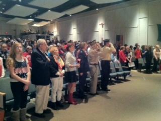 2013 Veterans Day Assembly Furnace Brook School