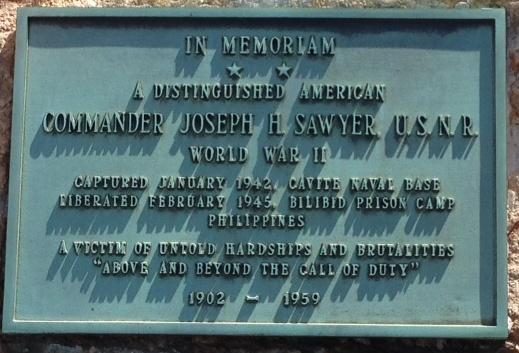 CDR WWII Memorial Inscription