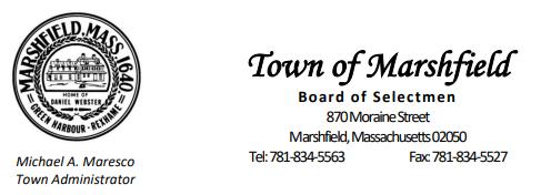 letterhead town administrator BOS