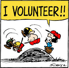 Charlie Brown I volunteer!