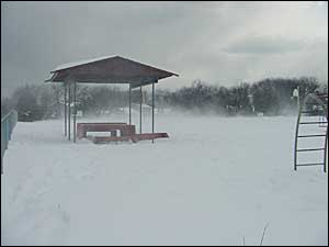 Tower Avenue Park in Winter