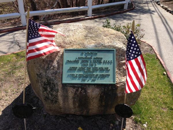 CDR Sawyer WWII Memorial