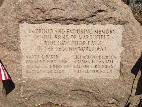 Inscription WWII