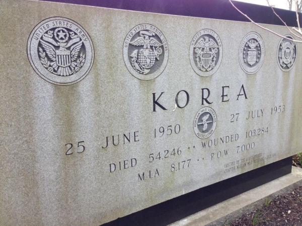 Korea Monument Back